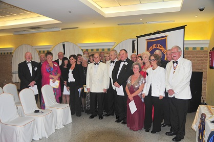 Charter Dinner Vera Lions Club, Spain (club website)