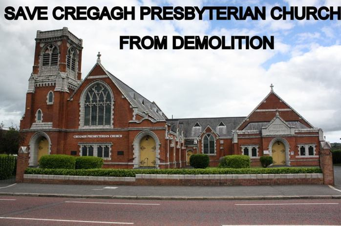 Cregagh Presbyterian Church  Photo: facebook