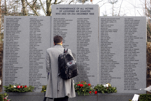 Lockerbie Memorial  Photo: PM Office website