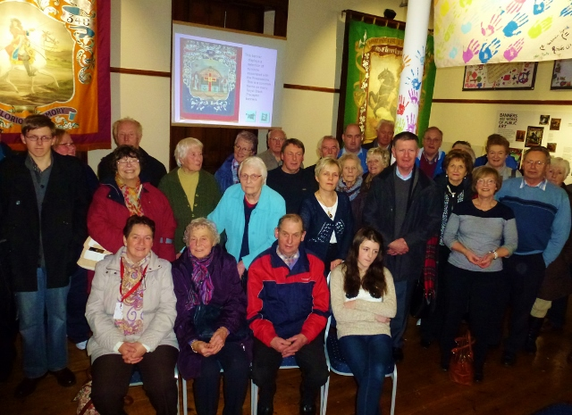Members of the group at Cavan County Museum  Photo: © Michael Fisher