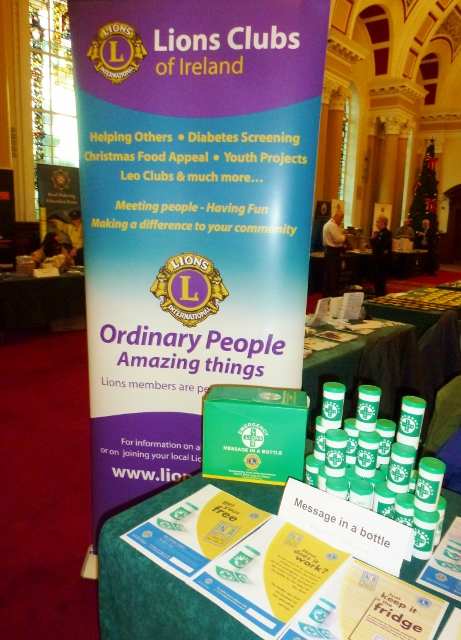 Belfast Lions Club Message in a Bottle  Photo: © Michael Fisher