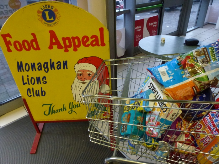 Food appeal collection at Fleings Super Valu  Photo: © Michael Fisher