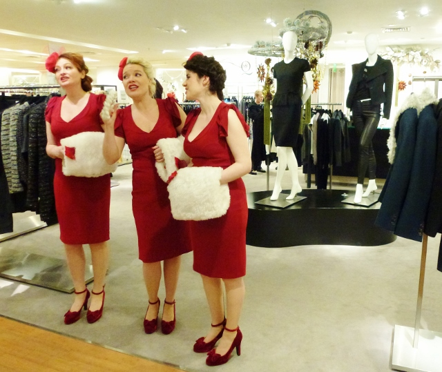 Bugle Babes at Brown Thomas  Photo: © Michael Fisher