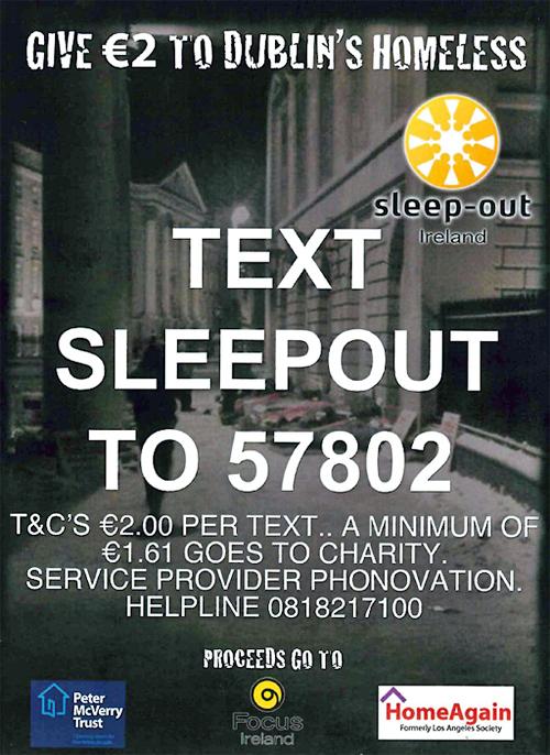 Belvedere College SJ  Sleepout 2013