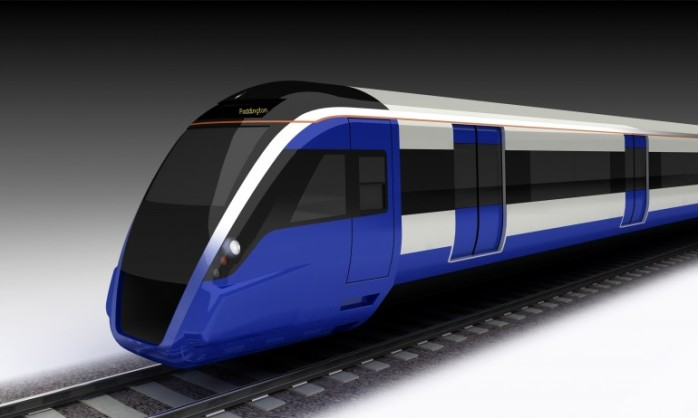 Image of new rolling stock:  Crossrail website