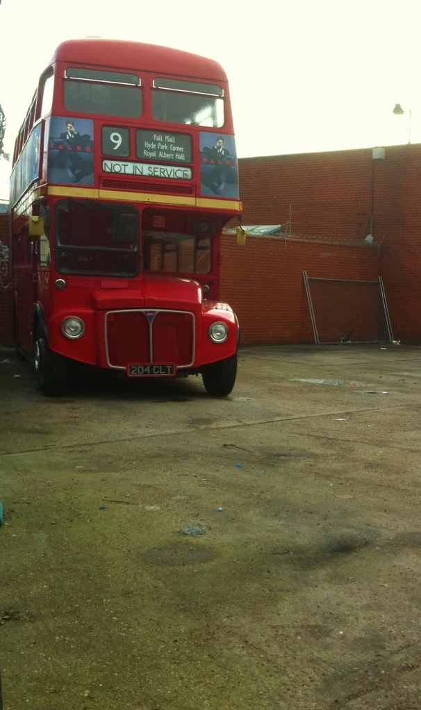 Routemaster bus RM1204 at Westbourne Park garage  Photo: © Michael Fisher
