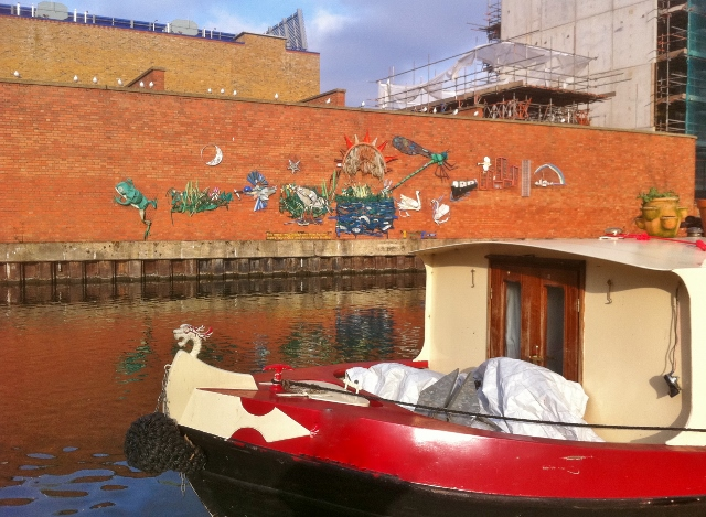 Boat moored near Little Venice  Photo: © Michael Fisher