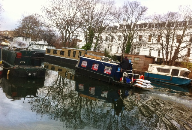 Paddington Arm at Blomfield Road Photo: © Michael Fisher