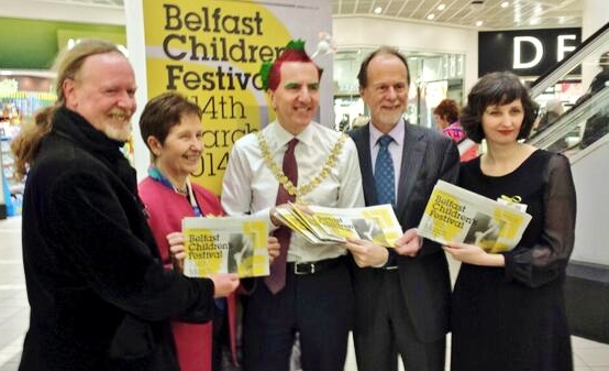 Launch of Belfast Children's Festival  Photo: Arts Council via twitter