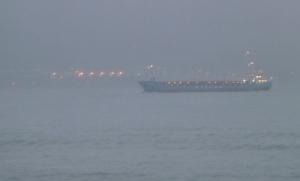Wilson Brest cargo ship heading for Belfast port  Photo: © Michael Fisher