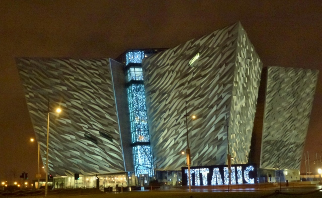 Titanic Belfast New Year's Day 2014  Photo: © Michael Fisher