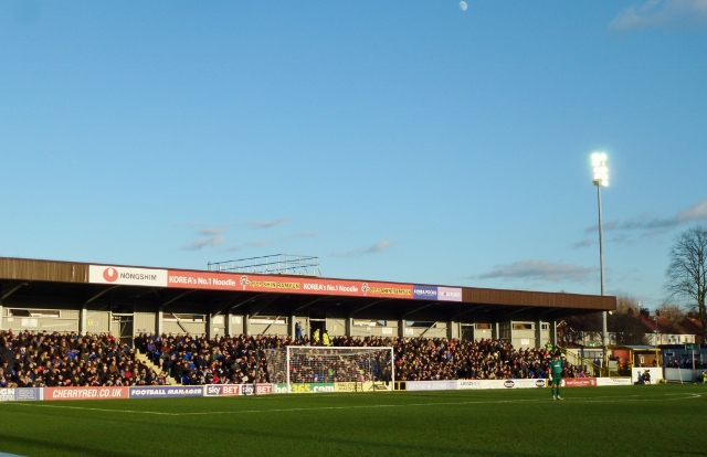 Nongshim Stand looking well  Photo: © Michael Fisher