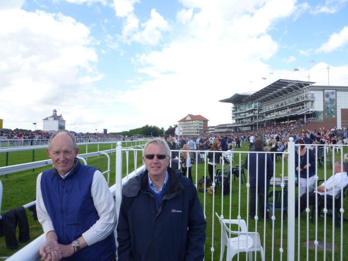 Howard Waldron (left) & Dave Ireland at York Racecourse June 2013  Photo: © Michael Fisher