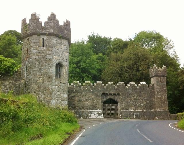 Entrance to Tynan Abbey estate  Photo:  © Michael Fisher