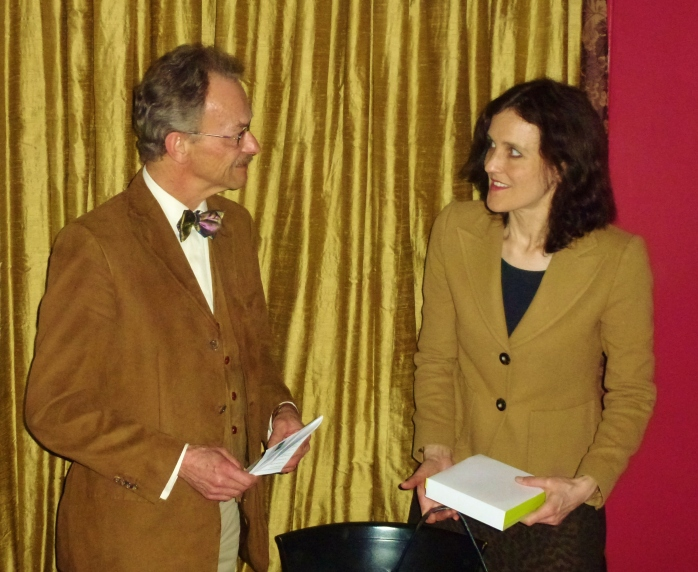 AEJ Chair Martin Alioth and Secretary of State Theresa Villiers MP  Photo: © Michael Fisher