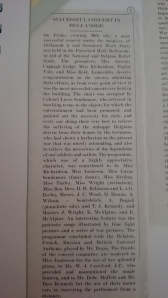 Northern Standard  report November 1914 Courtesy of Kevin Cullen: Co. Monaghan Great War Roll Book