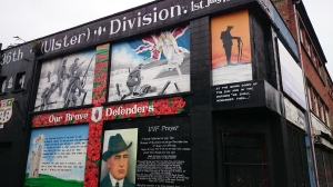 36th Ulster Division UVF mural East Belfast  Photo:  © Michael Fisher