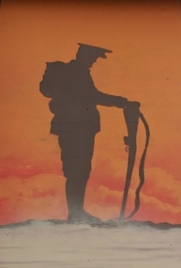 Detail from UVF Somme mural East Belfast Photo:  © Michael Fisher