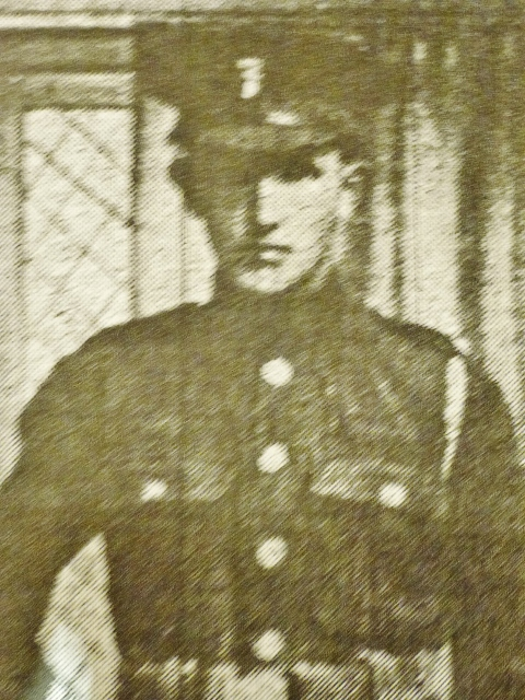 Private Robert Hamilton Photo from Northern Standard obituary May 1918