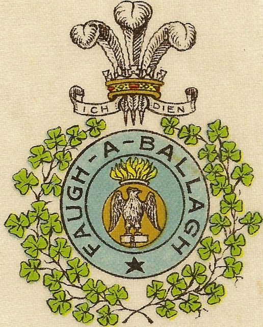 Regimental Crest, Royal Irish Fusiliers: Nick Metcalfe website