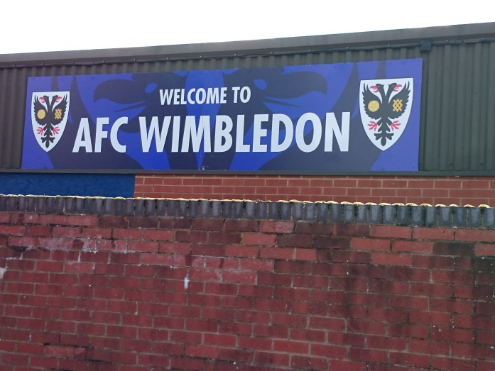 AFC Wimbledon KIngsmeadow  Photo:  © Michael Fisher