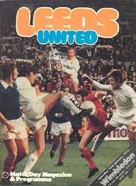 Leeds United v Wimbledon FA Cup (4) January 25th 1975 Programme: Collectsoccer.com