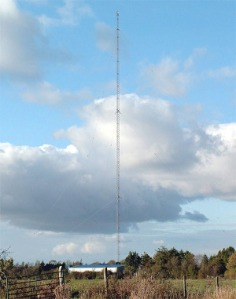 LW252 mast Co. Meath Photo: Save RTE Longwave Radio