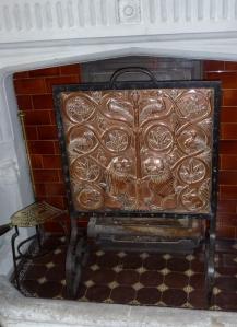 Copper Firescreen in Blessingbourne: Fivemiletown Arts & Crafts School