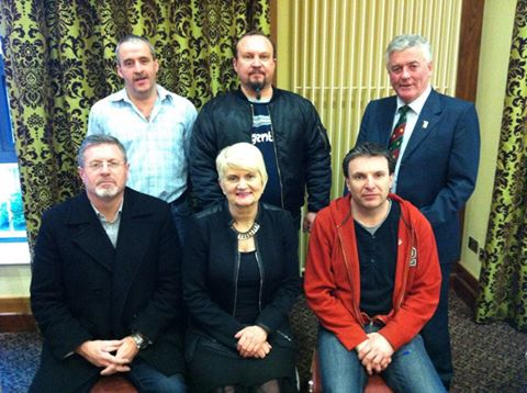 Marian Harkin MEP meets SIPTU and Bose workers in Carrickmacross  Photo:  SIPTU
