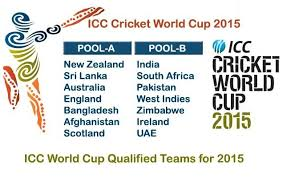ICC Cricket World Cup Pools