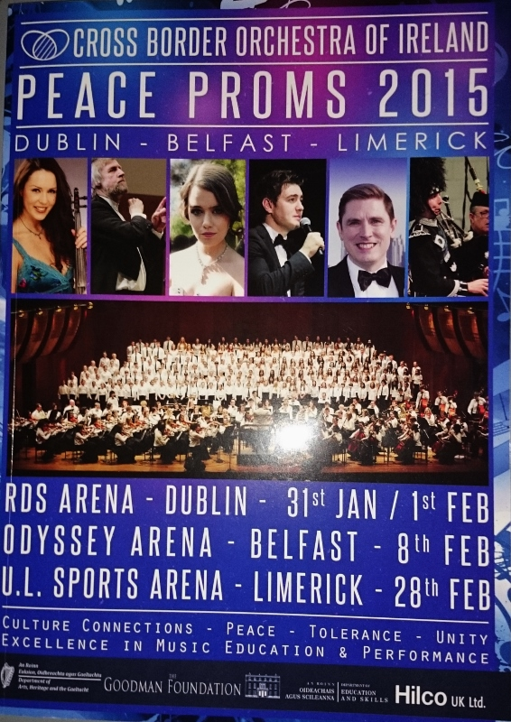Peace Proms 2015 Commemorative Brochure