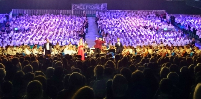 Peace Proms 2015 at RDS  Photo: © Michael Fisher
