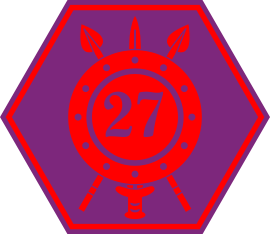 27th Infantry Battalion Shoulder Flash
