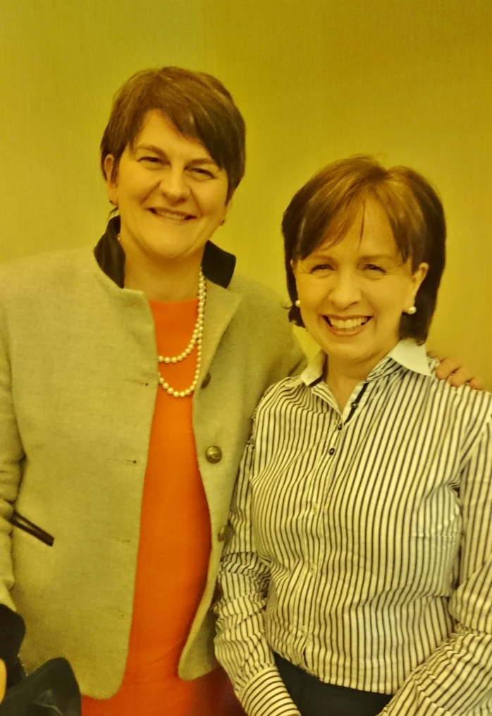 Arlene Foster MLA and Diane Dodds MEP Photo: © Michael Fisher