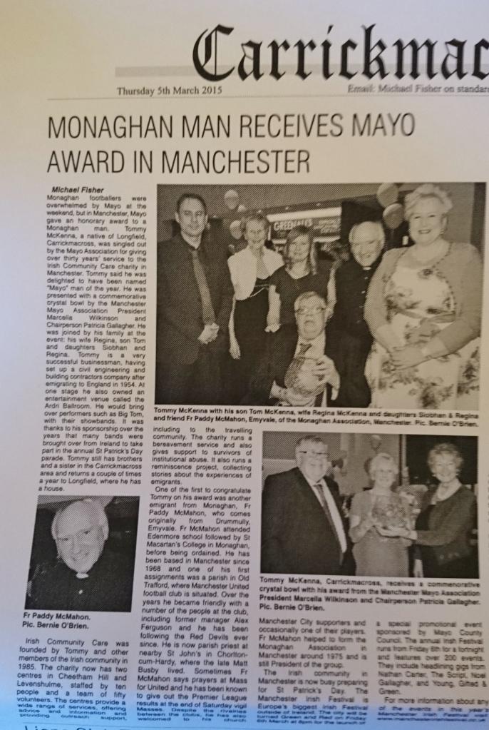 Northern Standard: Carrickmacross News Thursday 5th March 2015 p.35