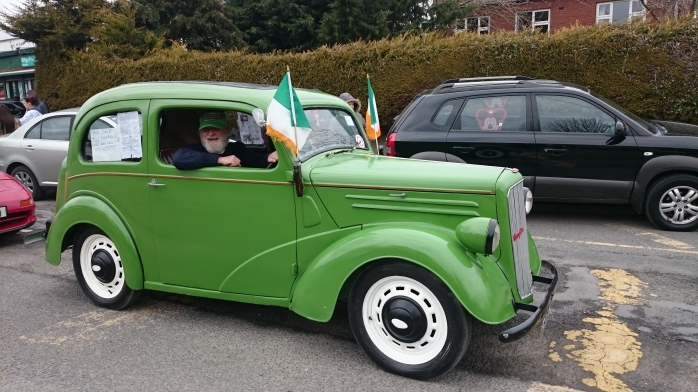 1946 Ford Anglia: part of the Vintage Display in the Inniskeen Parade Photo:  © Michael Fisher
