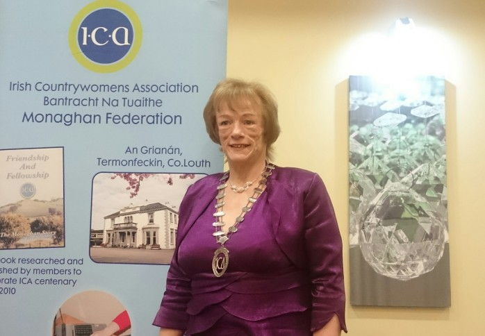 Patricia Cavanagh, outgoing ICA Monaghan Federation President Photo:  © Michael Fisher