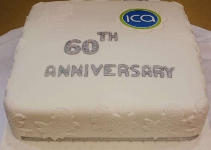 ICA Monaghan Federation 60th Anniversary Cake by Mary Reilly  Photo:  © Michael Fisher