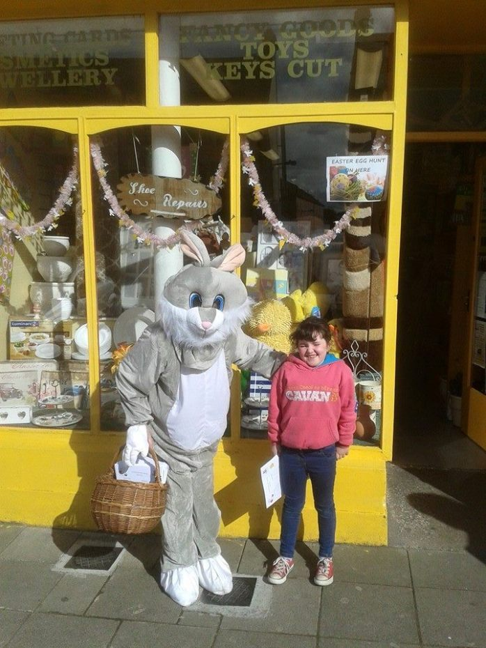 On the Easter Egg trail Photo: Carrickmacross Chamber of Commerce