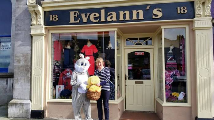 The Easter Bunny is in town Photo: Carrickmacross Chamber of Commerce