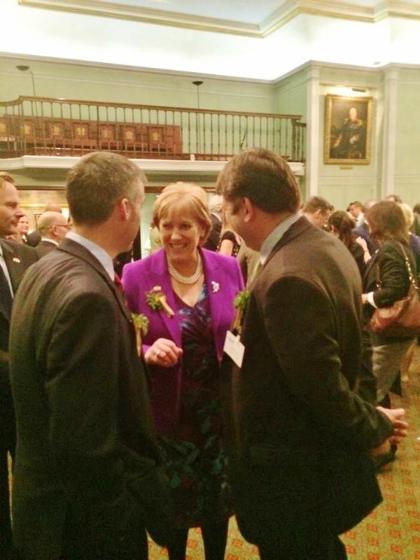 Arts Minister Heather Humphreys TD at Enterprise Ireland reception in London  Photo: @HHumphreysFG
