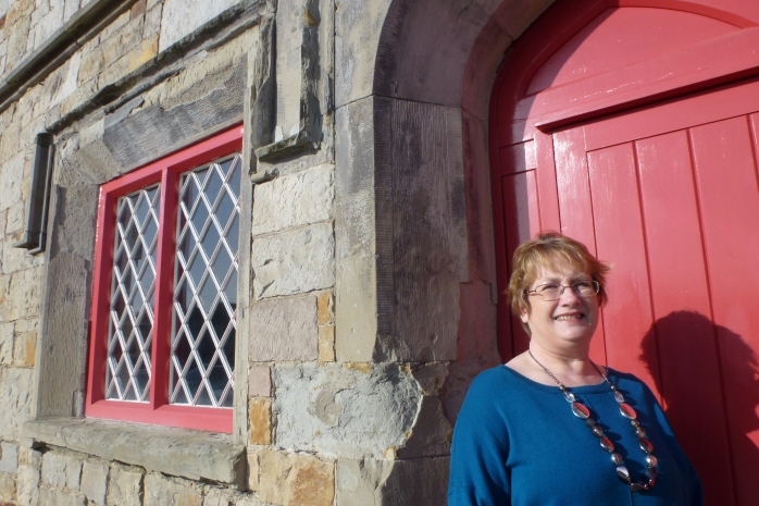 Maeve Montgomery, Dementia Adviser, Alzheimer Society, at Carrickmacross Wokhouse  Photo: © Michael Fisher