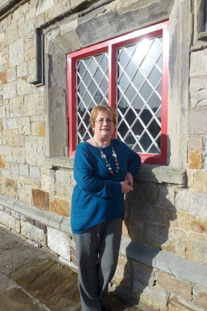 Maeve Montgomery, Dementia Adviser, Alzheimer Society, at Carrickmacross Workhouse  Photo: © Michael Fisher