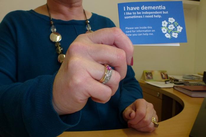 Dementia Card  Photo:  © Michael Fisher