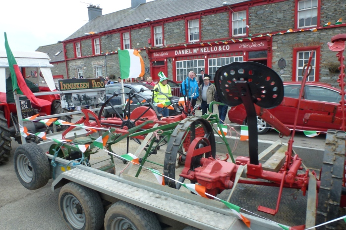 Plenty of vintage displays at Inniskeen St Patrick's Parade  Photo:  © Michael Fisher
