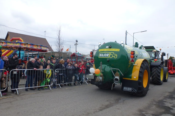 Slurry Spreader: part of Inniskeen's St Patrick's Parade Photo: © Michael Fisher