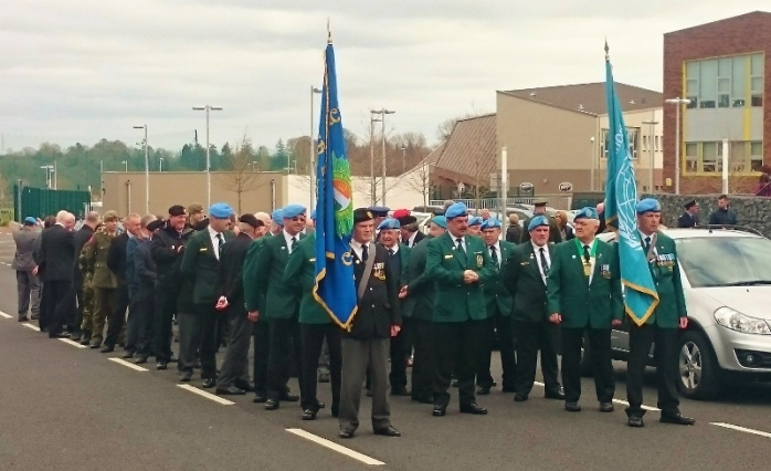 Parade from Garage Theatre to memorial stone in former transport yard Photo:  © Michael Fisher
