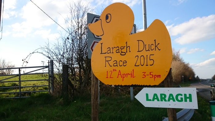 All roads lead to Laragh on Sunday 12th April Photo:  © Michael Fisher