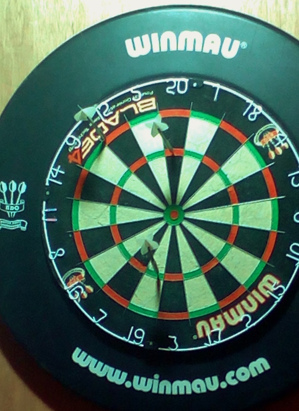 Perfect nine dart finish by Hughie Martin, Inniskeen: Monaghan's first such feat