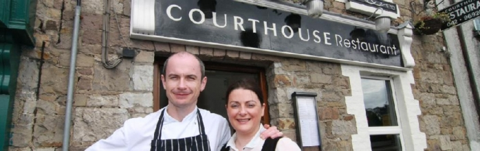 Conor Mee and Charlotte Carr, Courthouse Restaurant, Carrickmacross